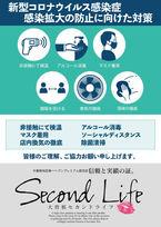 新型ウイルス対策に関して当店の取り組み  (感染症対策)