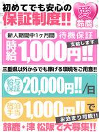体験20,000円から保証!!