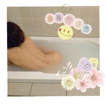 お風呂でワンショット
